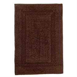 Βαμβακερό χαλάκι μπάνιου brown 45X65 cm