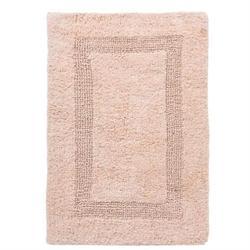Βαμβακερό χαλάκι μπάνιου beige 45X65 cm