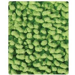 Σετ βαμβακερό χαλάκι 2 τεμ. Loop green 50X80 cm + 50X50 cm