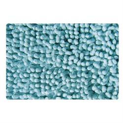Cotton bathmats chenille light blue 50X50 cm