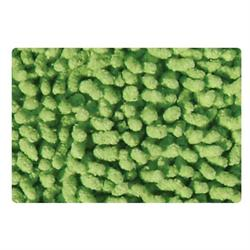 Cotton bathmats chenille green 50X50 cm