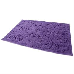 Cotton bathmats art purple 60X90 cm