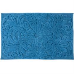 Βαμβακερό χαλάκι μπάνιου art blue 60X90 cm