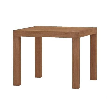 Small table cherry red