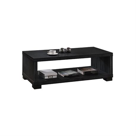 Coffee table zebrano