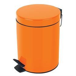 Μεταλλικό χαρτοδοχείο 5lt πορτοκαλί