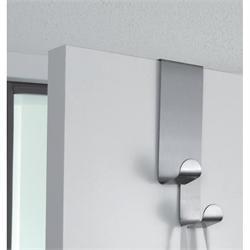 Κρεμάστρα πόρτας λευκή για πάχος πόρτας 41mm