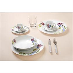 Dining set 20pcs. Floral