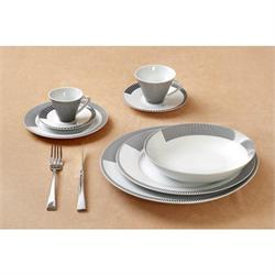 Dining set 20pcs Nero