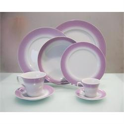 Dining set 20pcs. Bonito Purpple