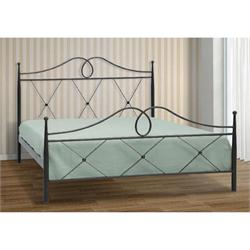 Iron Single bed KEA 90X200 cm