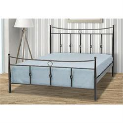 Iron Double bed KITHIRA 160X200 cm