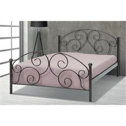 Iron Double bed KALIMNOS 160X200 cm