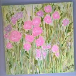 Ανοιξιάτικος κήπος - Αυθεντικός πίνακας ζωγραφικής