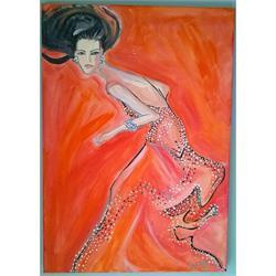 Σπανιόλα - Αυθεντικός πίνακας ζωγραφικής