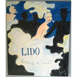 Καμπαρέ Ι - Αυθεντικός πίνακας ζωγραφικής