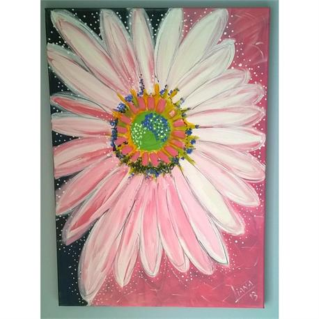 Daisy Splash - Original painting
