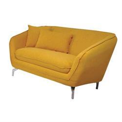 Καναπές 2θέσιος Κίτρινο
