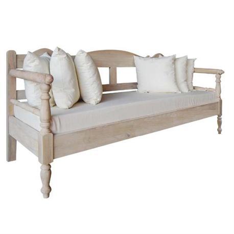 Καναπές 3θέσιος Antique white