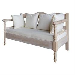 2-SEATER SOFA Antique white
