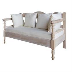 Καναπές 2θέσιος Antique white