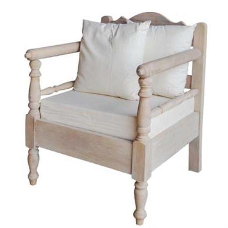 Πολυθρόνα Antique white