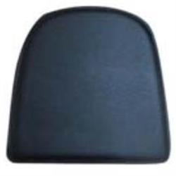 Κάθισμα μεταλλικής Καρέκλας Pvc Μαύρο (Μαγνητικό)