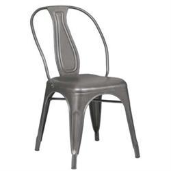 Καρέκλα Μεταλλική Metal High