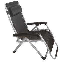 Πολυθρόνα - κρεβάτι πτυσ. ανακλ. γκρι / μαύρο textil.