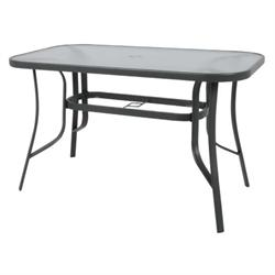 Table 140 x80 cm Steel Dark Grey