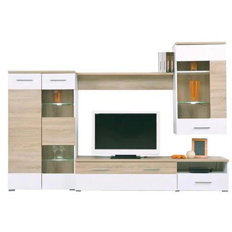 tv wall board 210 x40 x120 cm. Black Bedroom Furniture Sets. Home Design Ideas