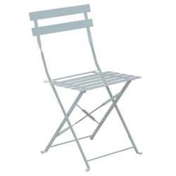 Καρέκλα Πτυσσόμενη Μεταλλική Άσπρη