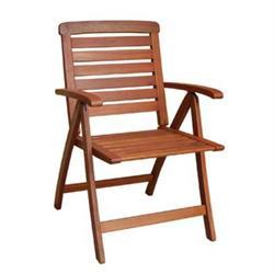 Πολυθρόνα 5-Θέσεων Χαμηλή Πλάτη Πτυσ/νη Keruing