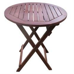 Folding TABLE Ø60, ACACIA