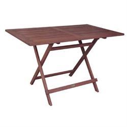Τραπέζι 120X70 παρ/μο Πτυσ/νο Acacia