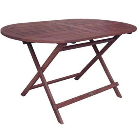 Table oval 140x80 keruing for Table 140x80