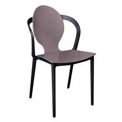 Chair PP Mocha / Black