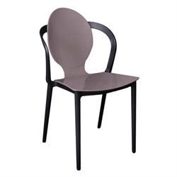 Καρέκλα PP Mocha / Μαύρο