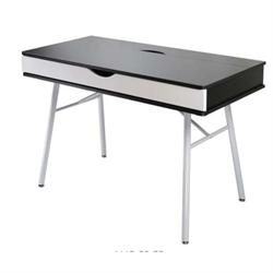 Desk White / Melamine Wenge