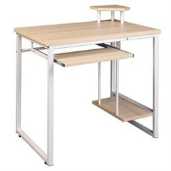 Desk with base for computer Beech