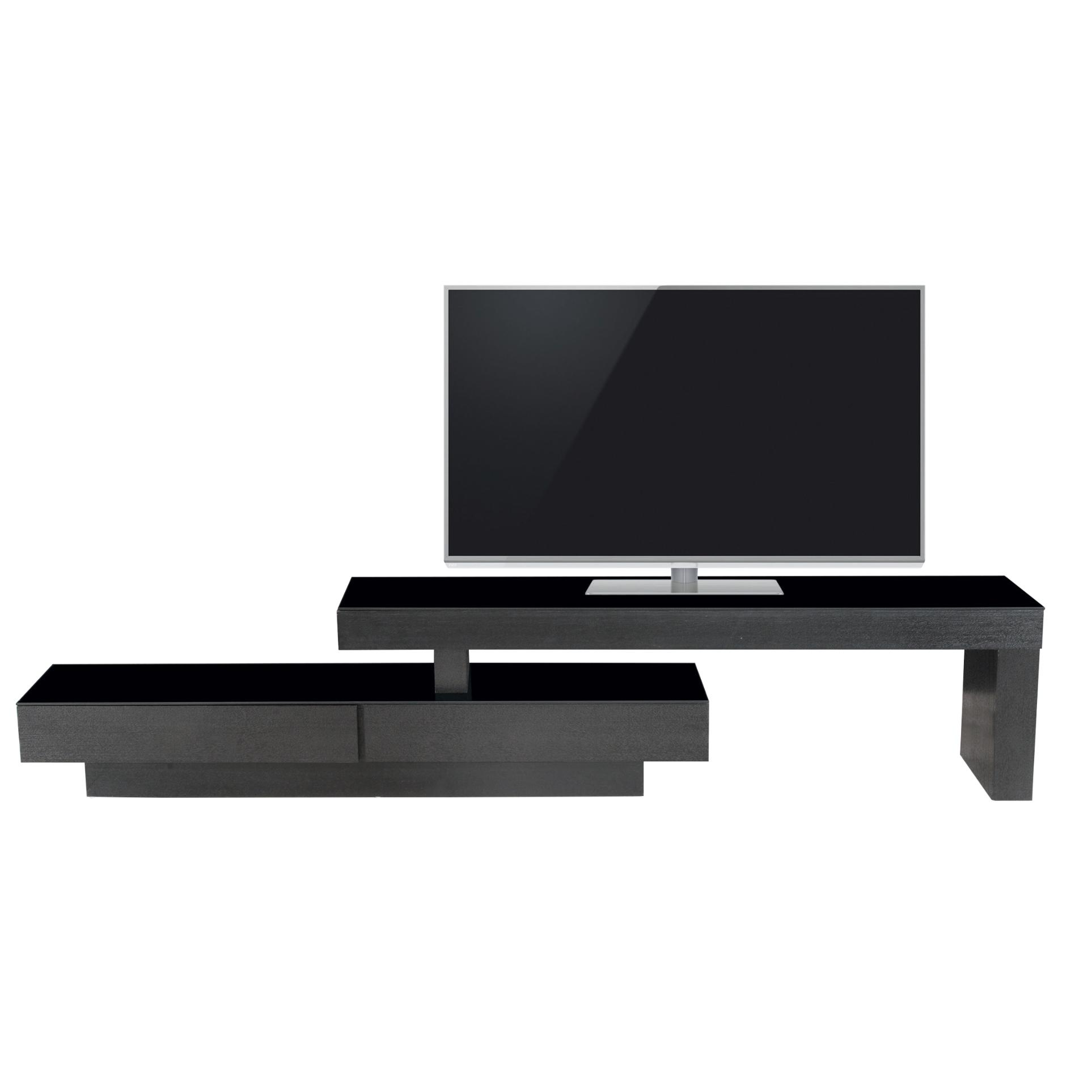 Tv table wenge glass 6mm for Bureau wenge ikea