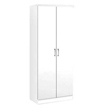Ντουλάπα Λευκό 80x42x180