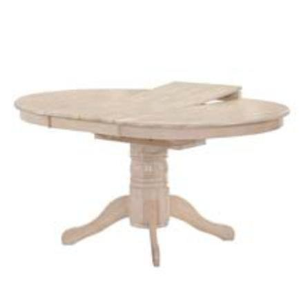 Τραπέζι Φ106+46 εκ White Wash