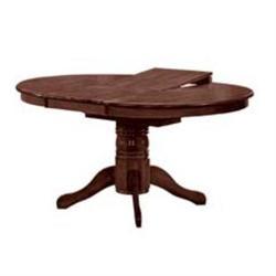 Τραπέζι Φ106+46 εκ Σκ.Καρυδί