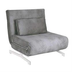 Πολυθρόνα - Κρεβάτι Ύφασμα Γκρι