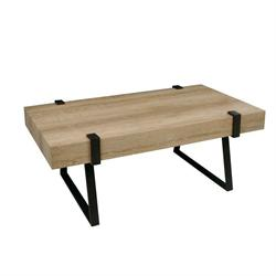 Coffee table antique black - Euro OAK
