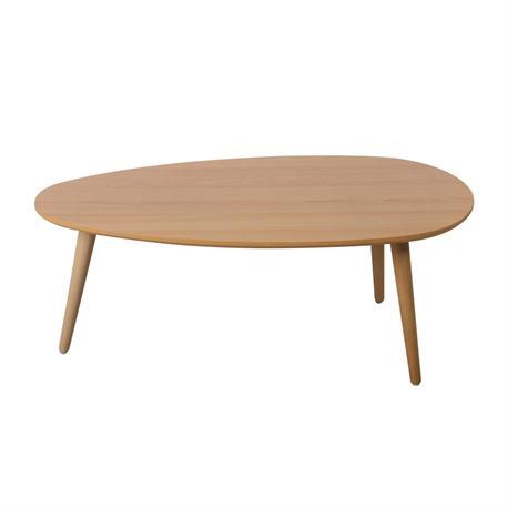 Τραπέζι Σαλονιού Φυσικό 89Χ48x34 εκ