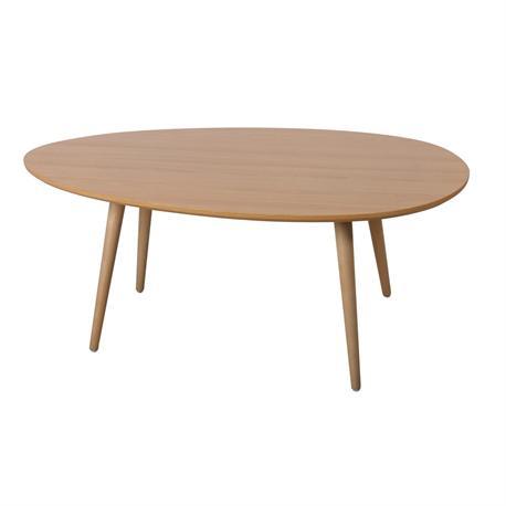 Τραπέζι Σαλονιού Φυσικό 98Χ60x40 εκ