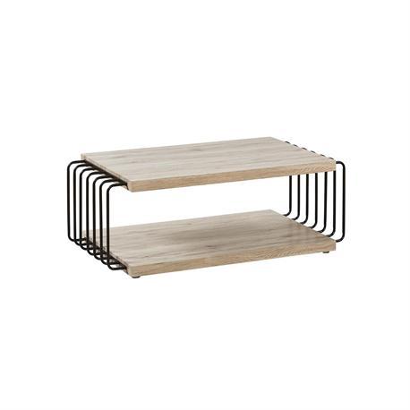 Coffee table ΟΑΚ / Steel black