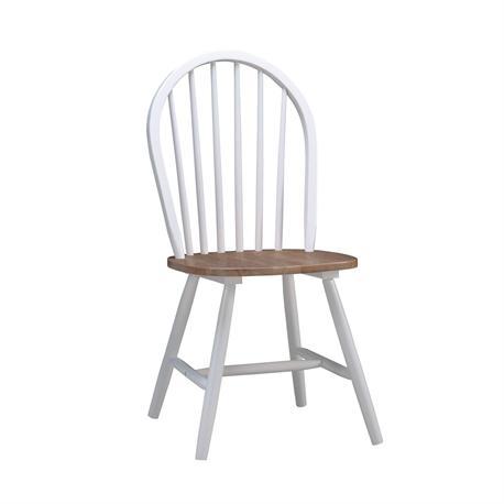 Καρέκλα Καρυδί / Άσπρο